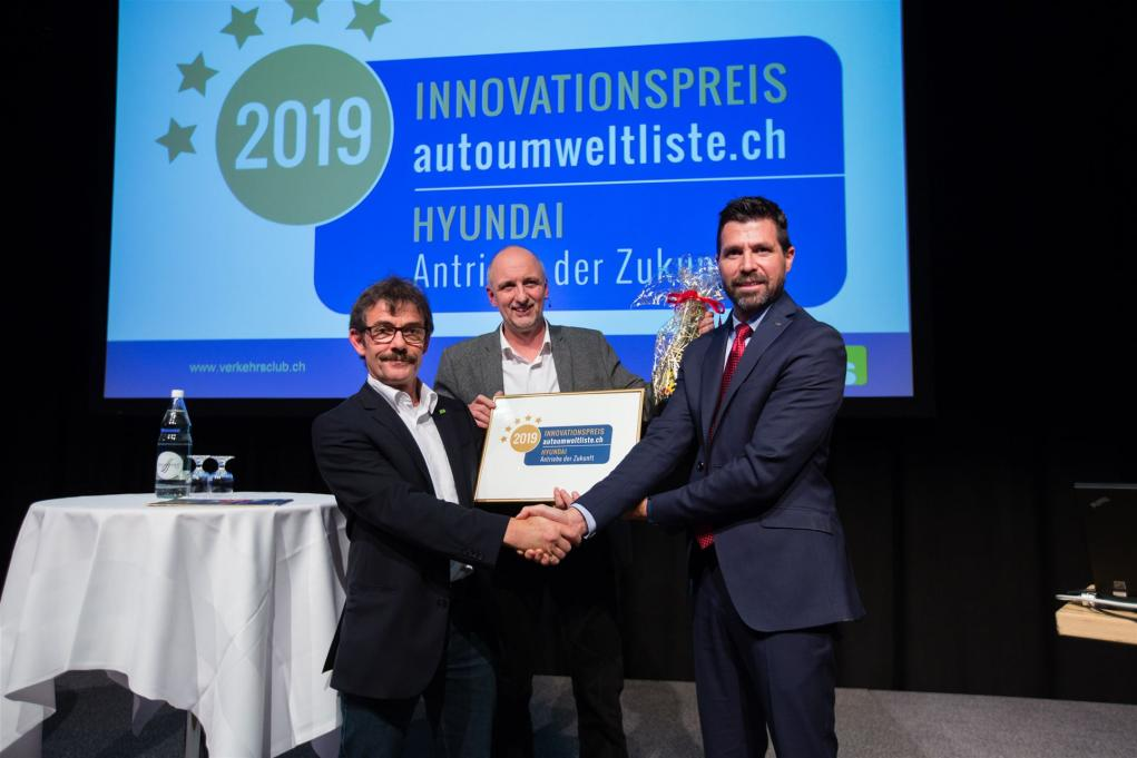 Innovationspreis 2019 für Hyundai